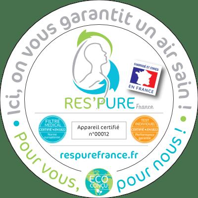 Label Res'Pure pour la qualité de l'air